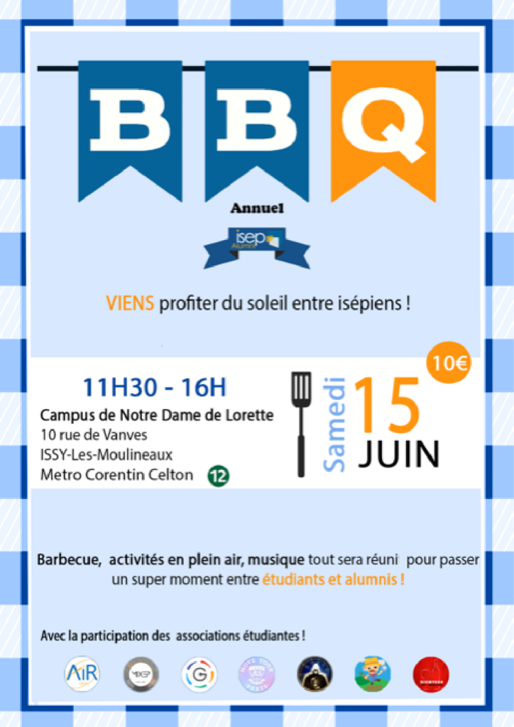 Affiche Barbecue juin 2019