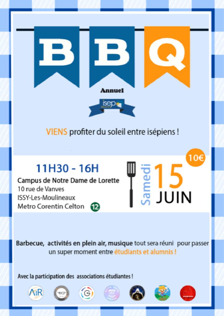 Affiche Barbecue juin 2019