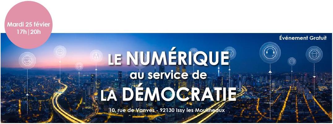 Le numérique au service de la démocratie