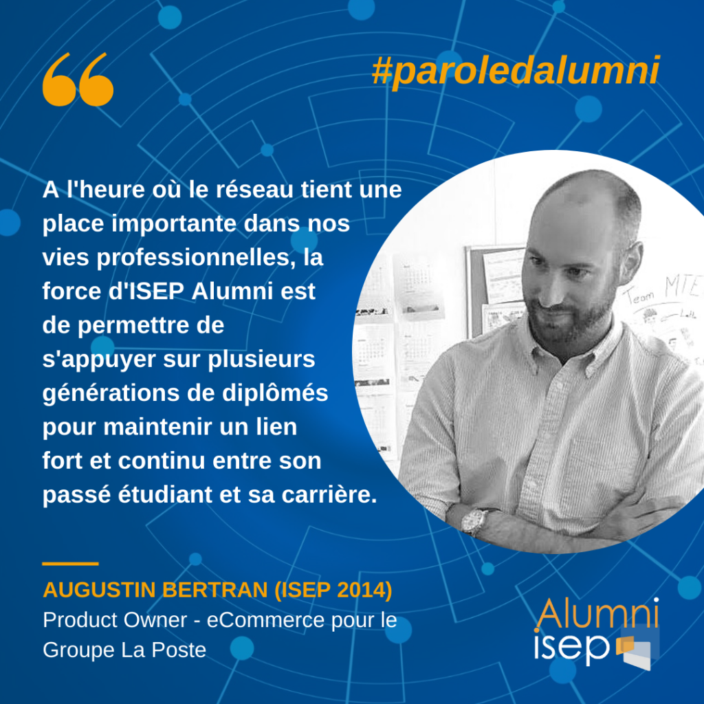 Parole d'alumni - Augustin Bertran