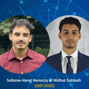 Visuel Sofiane-Henri Henocq et Nidhal Sabbah - ISEP 2020